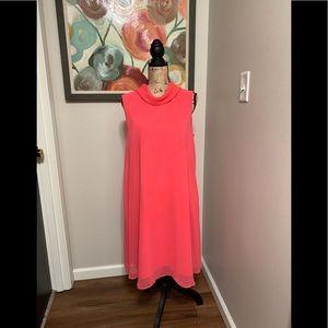 Beautiful Connected Apparel Chiffon Overlay Dress!